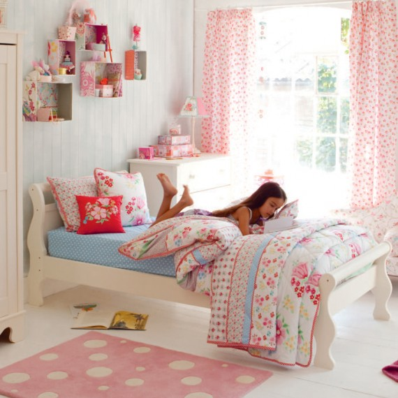 florence bedroom for girls