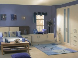high gloss cream bedroom