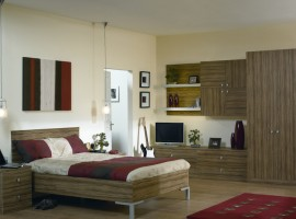 satin olivewood bedroom