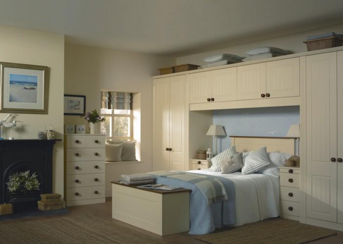vanilla bedroom