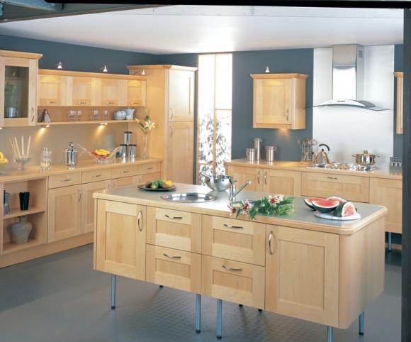 bauhaus maple kitchen