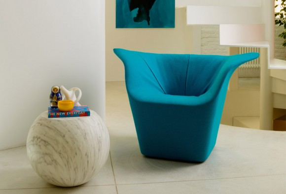 cappellini unconventional lounge chair