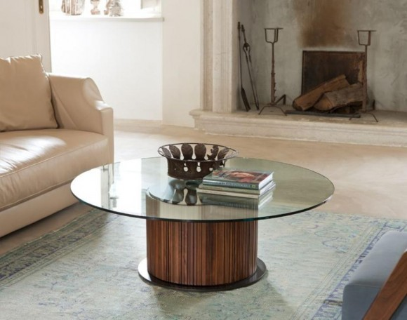 Lift height adjustable coffee table