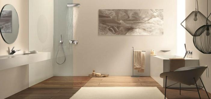 Outstanding Bathroom: Outstanding Italian Bathroom Mixer Series By Fantini