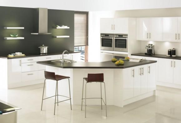 boston white modern kitchen