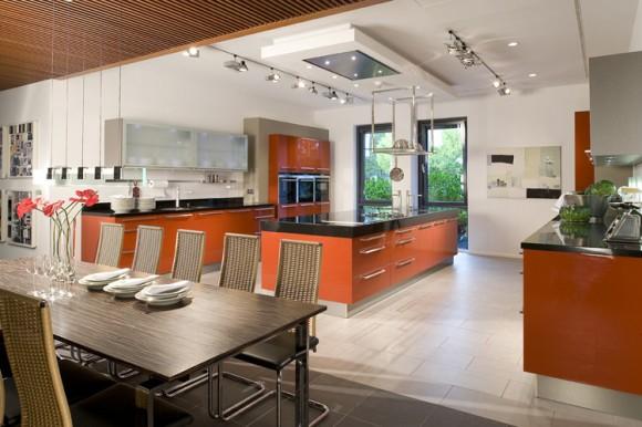 korallenrot kitchen