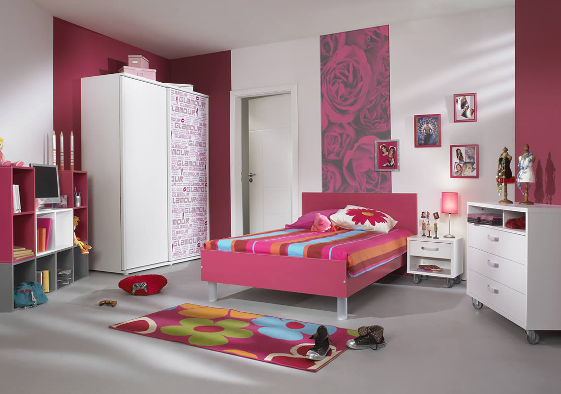 New home interior architecture designs and decorating ideas for Designs for teenagers bedroom