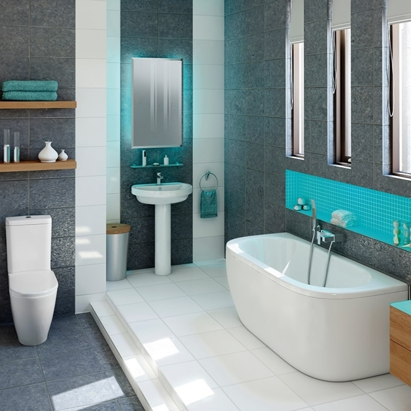 Stunningly captivating bathroom suite ranges by plumbworld for Modern bathroom suites ideas