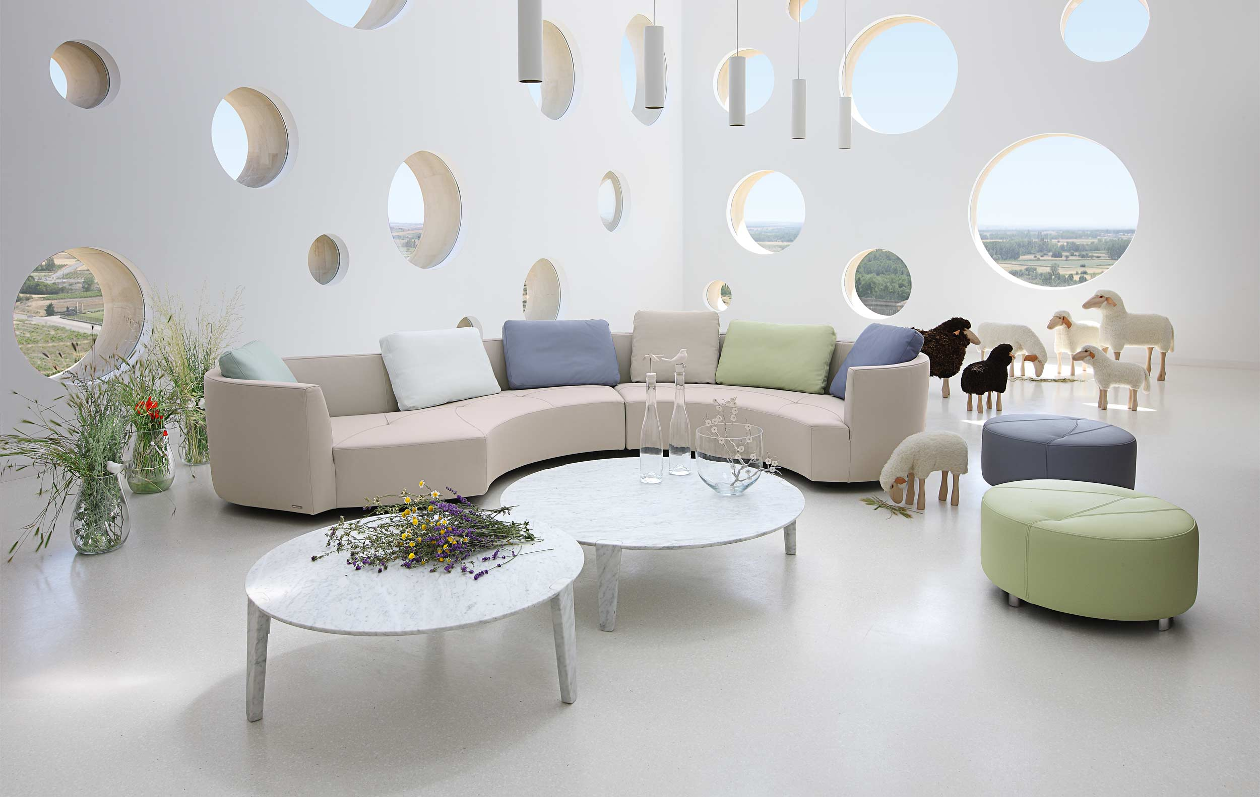 The Magnetic Appeal Of Roche Bobois Collection Interior