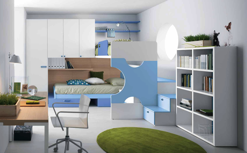 High on style cleverly designed teenage bedrooms by for Bedroom ideas for small rooms for teenagers
