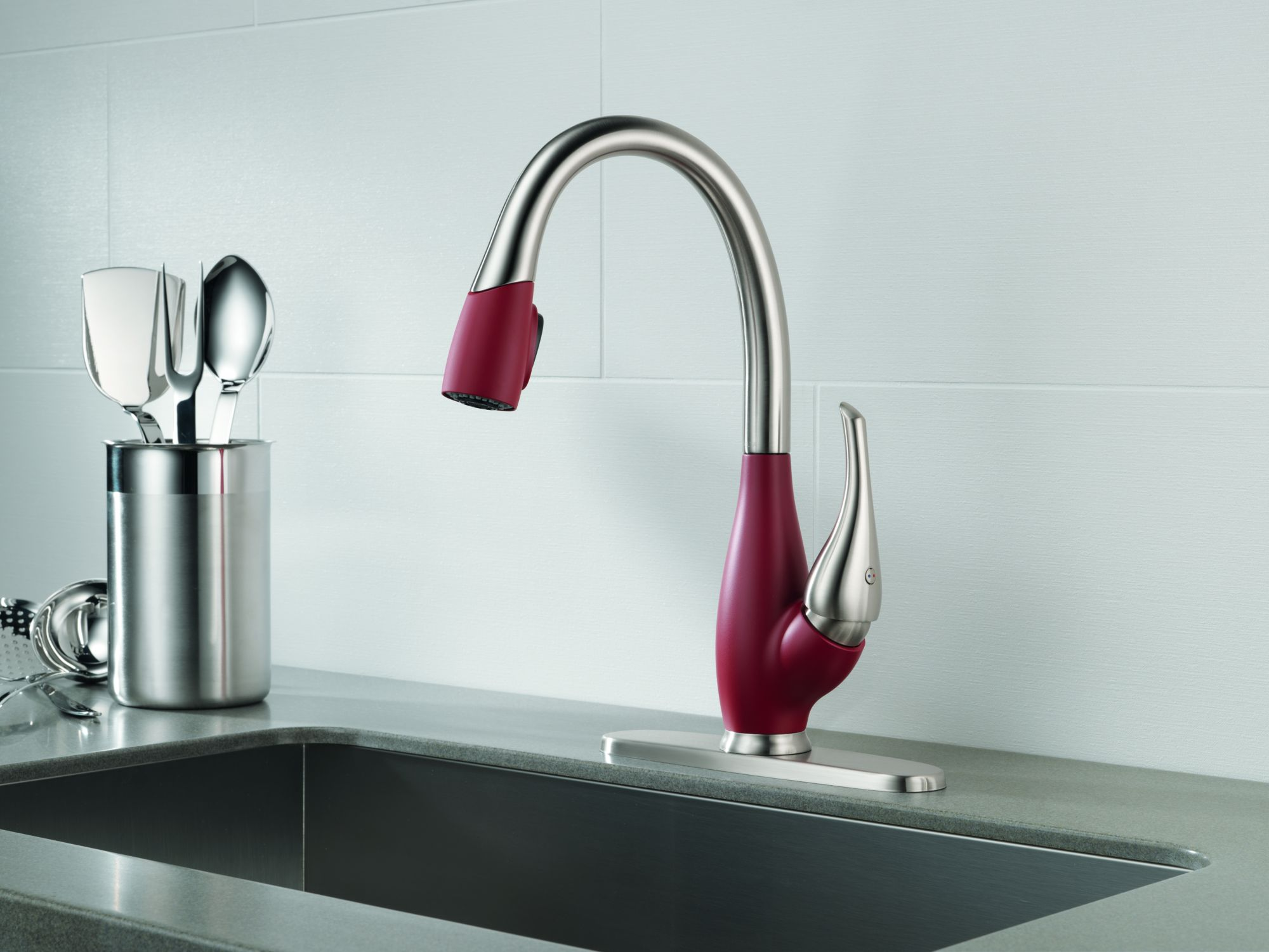 Delta faucet company brings faucets with varied Designer kitchen faucets