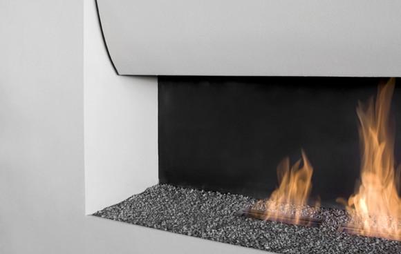 il canto del fuoco fireplace