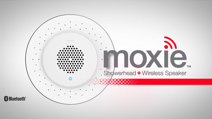 moxie shower speaker