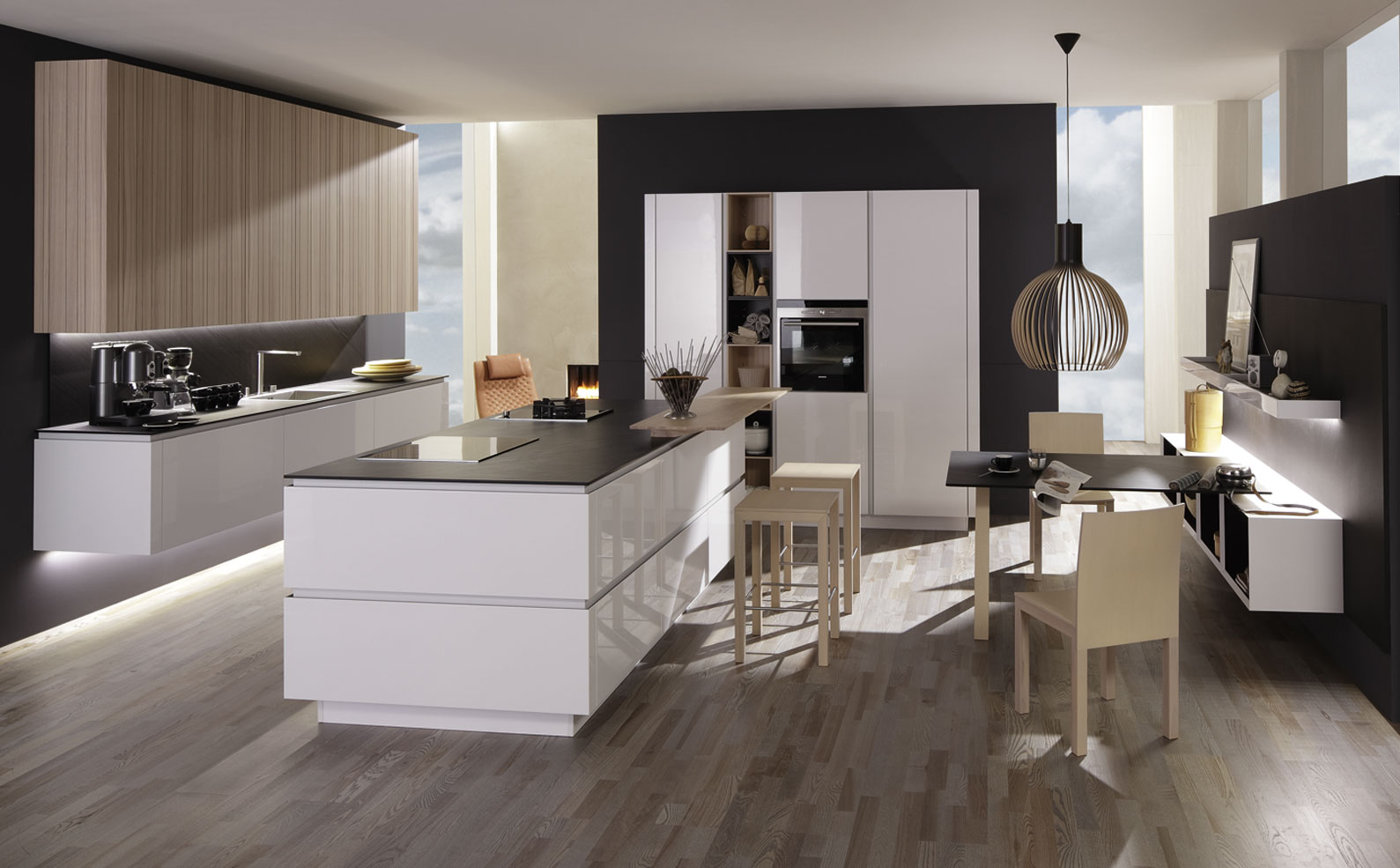 Matching Modern Kitchen Designs From Rational Interior