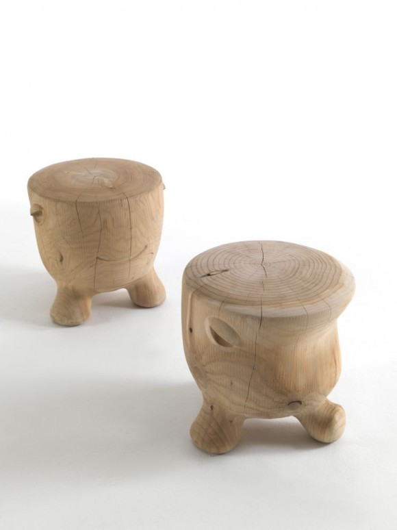 ildiko solid wood stools