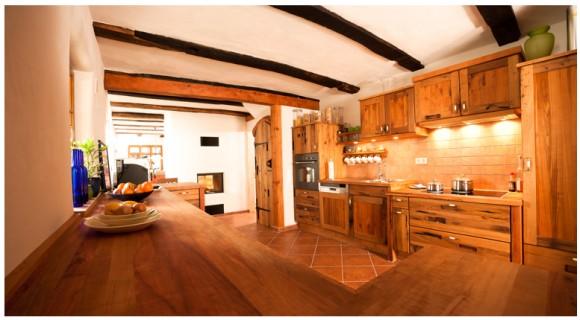 wood oak kitchen