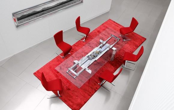 astrolab dining table