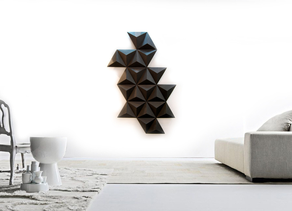 black diamond room radiator