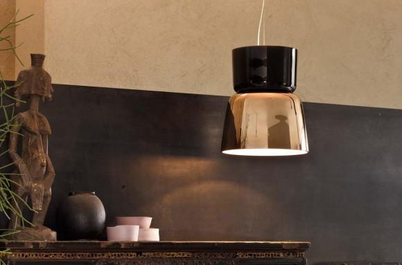 bloom suspended lamp