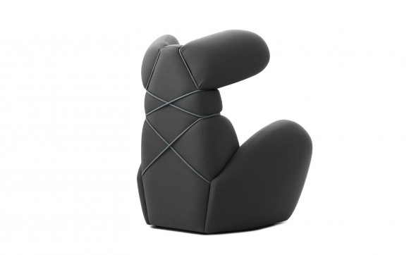 grey bunny chair