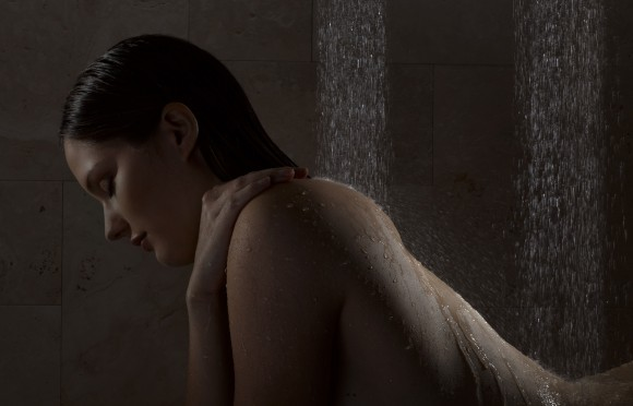 horizontal shower