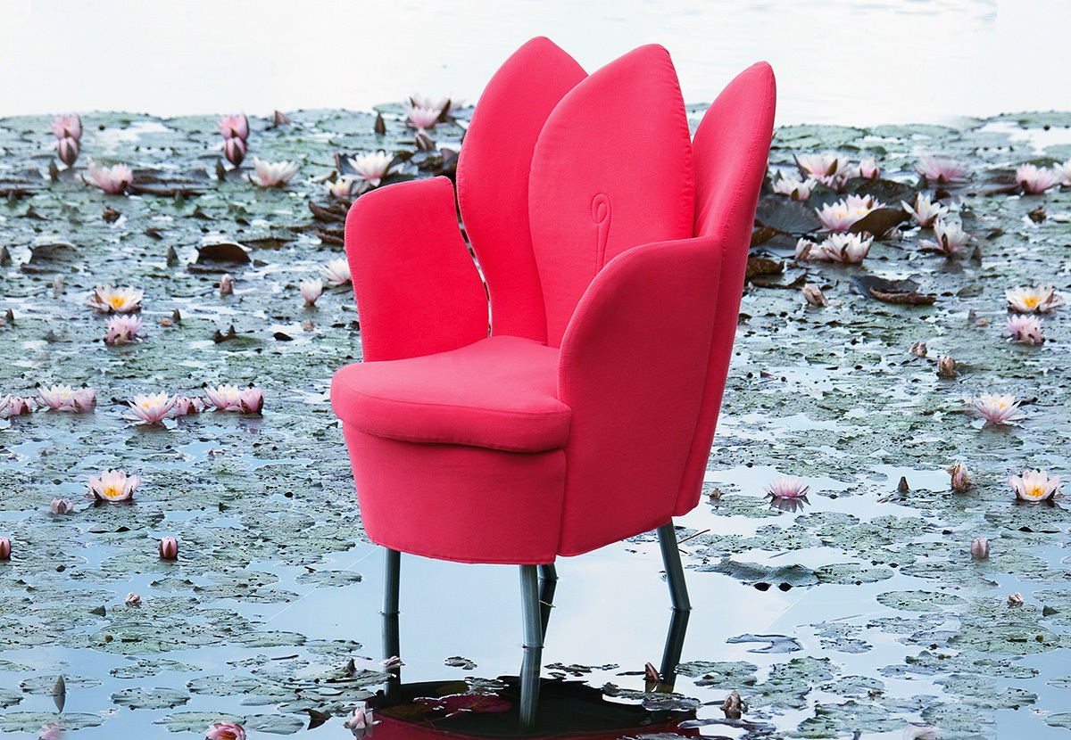 morning dew blossom chair