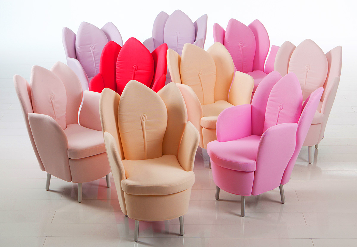 Wonderful Morning Dew Blossom Chair