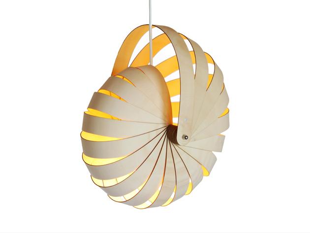 Nautilus Hanging Shade. This Nautilus Lamp ...
