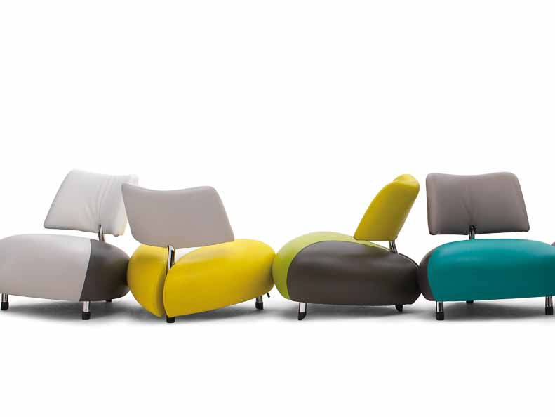 Leolux Furniture For Organic Design Interiors Pallone Creative Chair