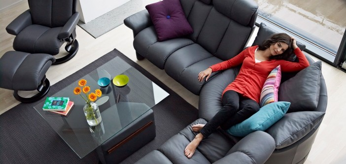 unique comfort sofas from ekornes. Black Bedroom Furniture Sets. Home Design Ideas