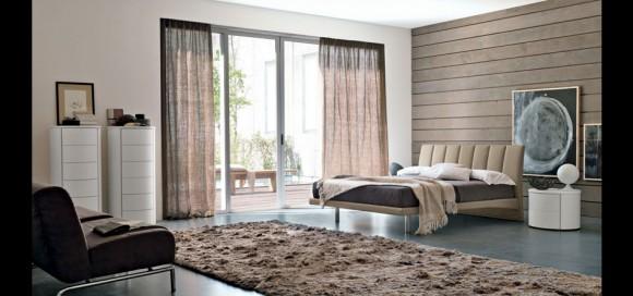 alen upholstered bed