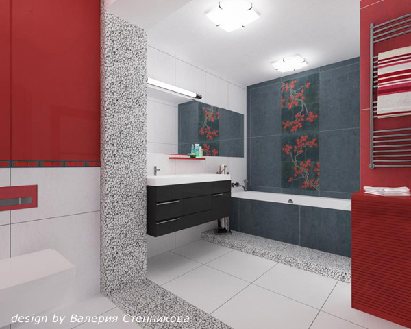 Awesome We Got Used To Bathrooms With Tiles In One Colors Or Maybe Two  But What About A Multicolored Bathroom? Ready To Rock The Colors? Its Spring Now And Its Time To Refresh Your Bathroom With Stunning, Even Crazy Colors, So Choose