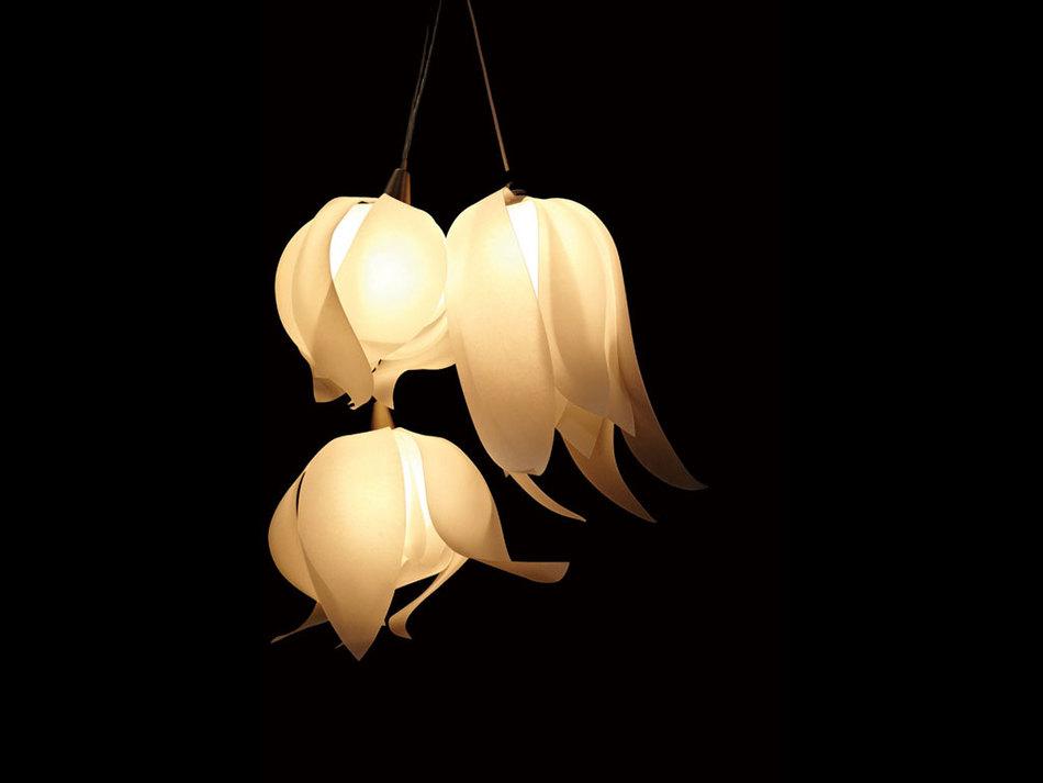 Elegant Blossom Pendant Light from 3Form | Interior Design Ideas ...