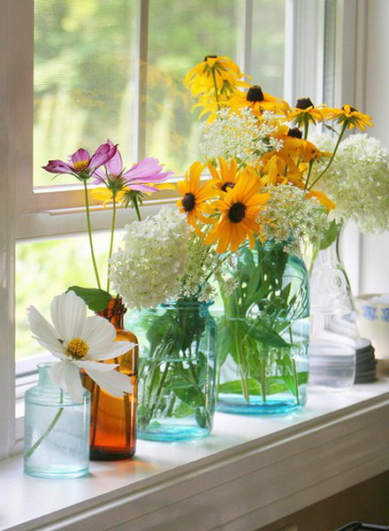 Modern Window Sill Ideas | Window Ledge Decorating Ideas