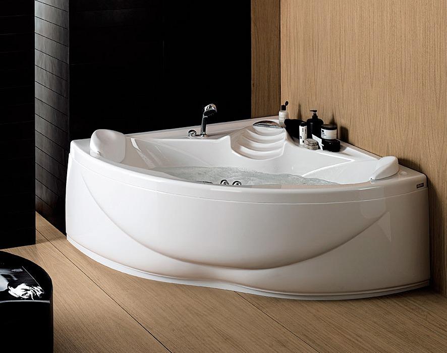ethos 140 corner bathtub