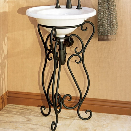 bathroom iron forged furniture