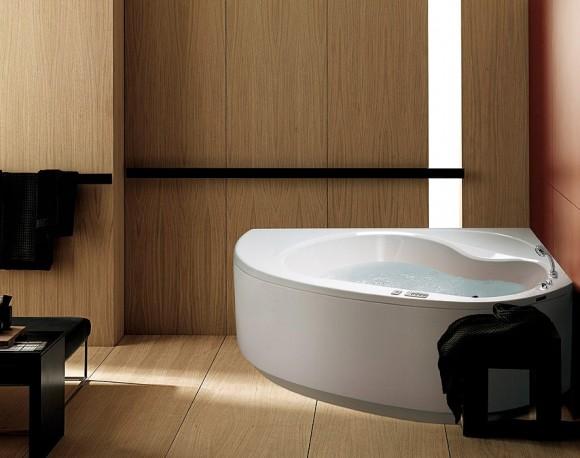 lylia 140 corner bathtub