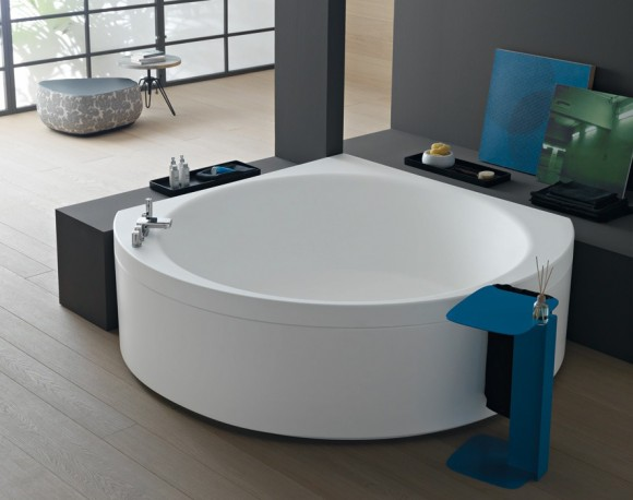 suri 140 corner bathtub