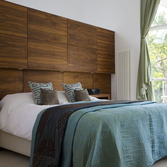 Wall Behind Bed Ideas Headboard