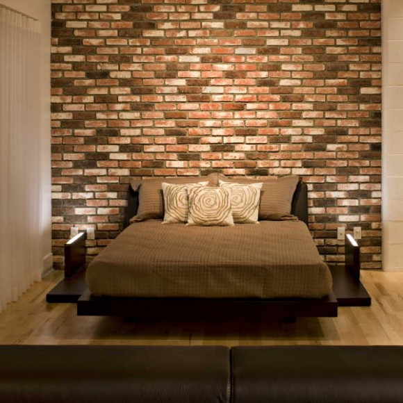 stone and brick wall decoration