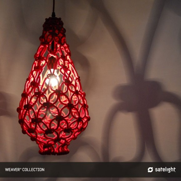weaver pendant light