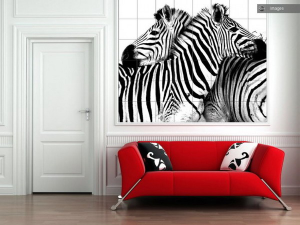 zebra print interior ideas