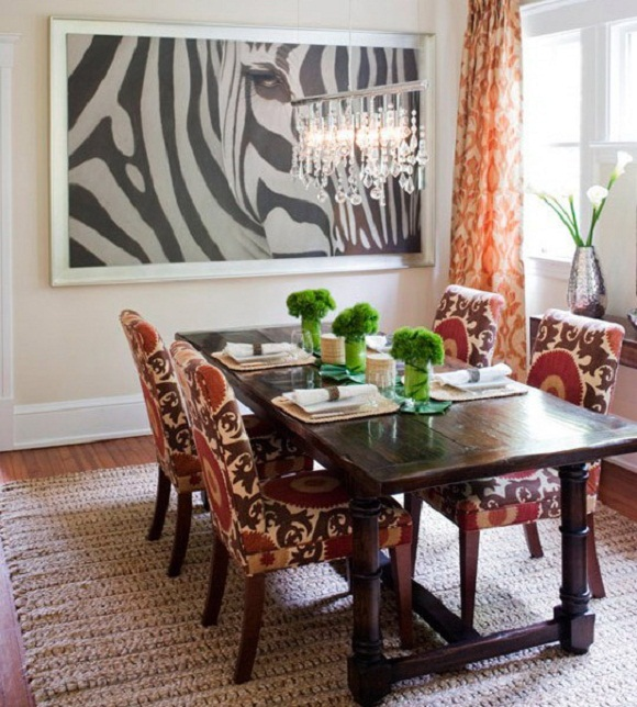 Living Room Zebra Print how to use the zebra print and pattern in modern homes? | interior