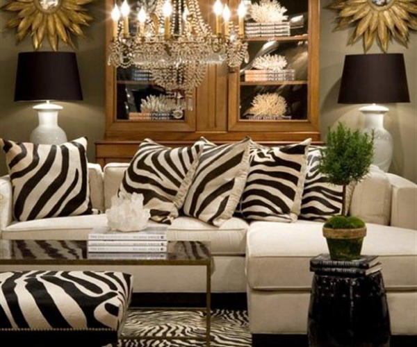 Zebra Rug Interior Design: How To Use The Zebra Print And Pattern In Modern Homes