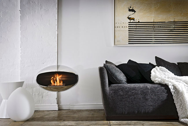 Functional and stylish fireplaces from Cocoon Fires | Interior ...