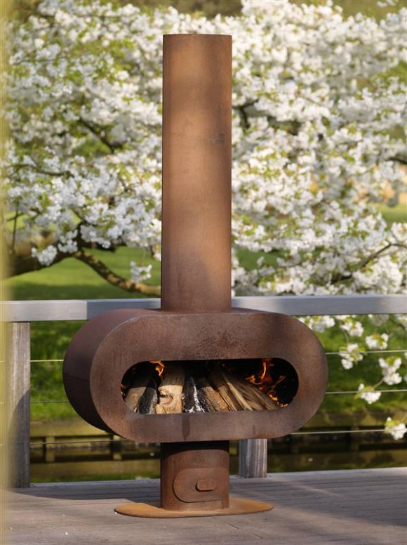 barro outdoor fireplace