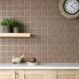 creative wallpaper for kitchen
