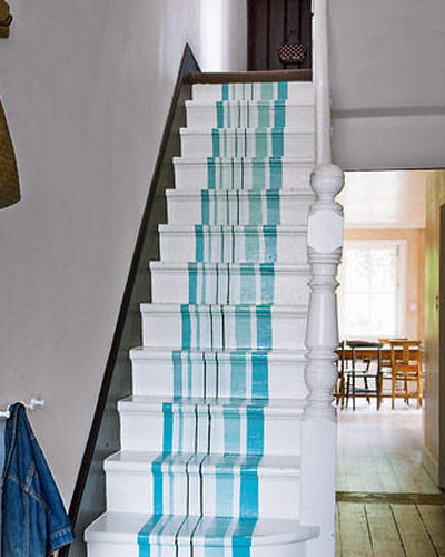 decorating staircase