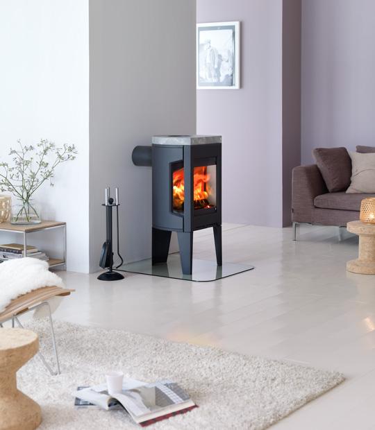 jotul f-163 black fireplace