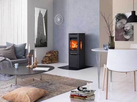 jotul f-263 black fireplace